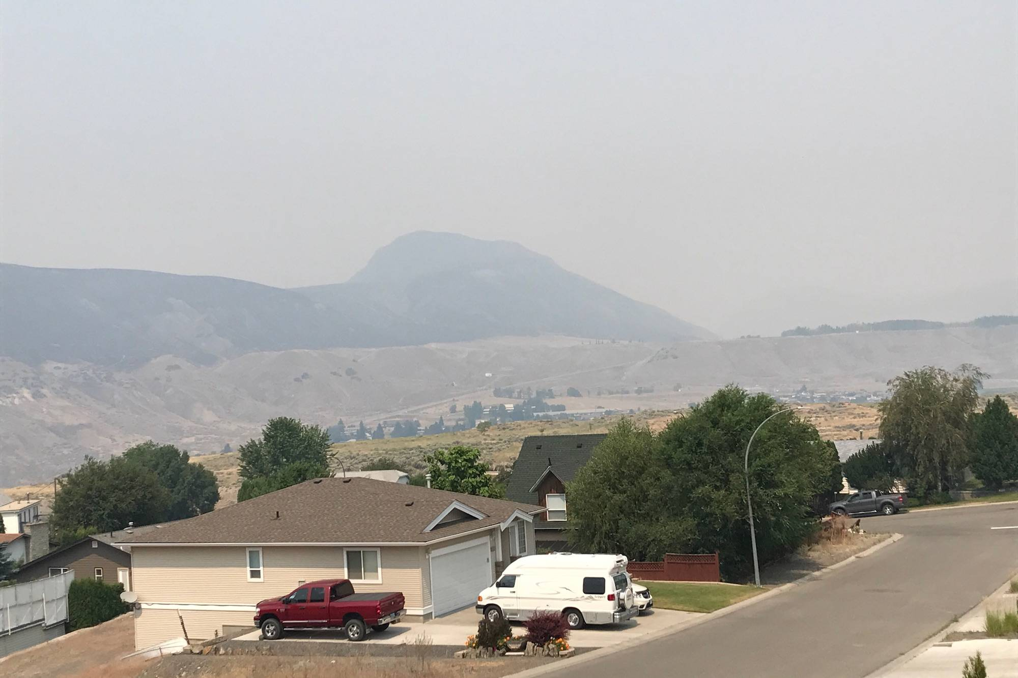 Ashcroft wildfire hits 6,100 hectares