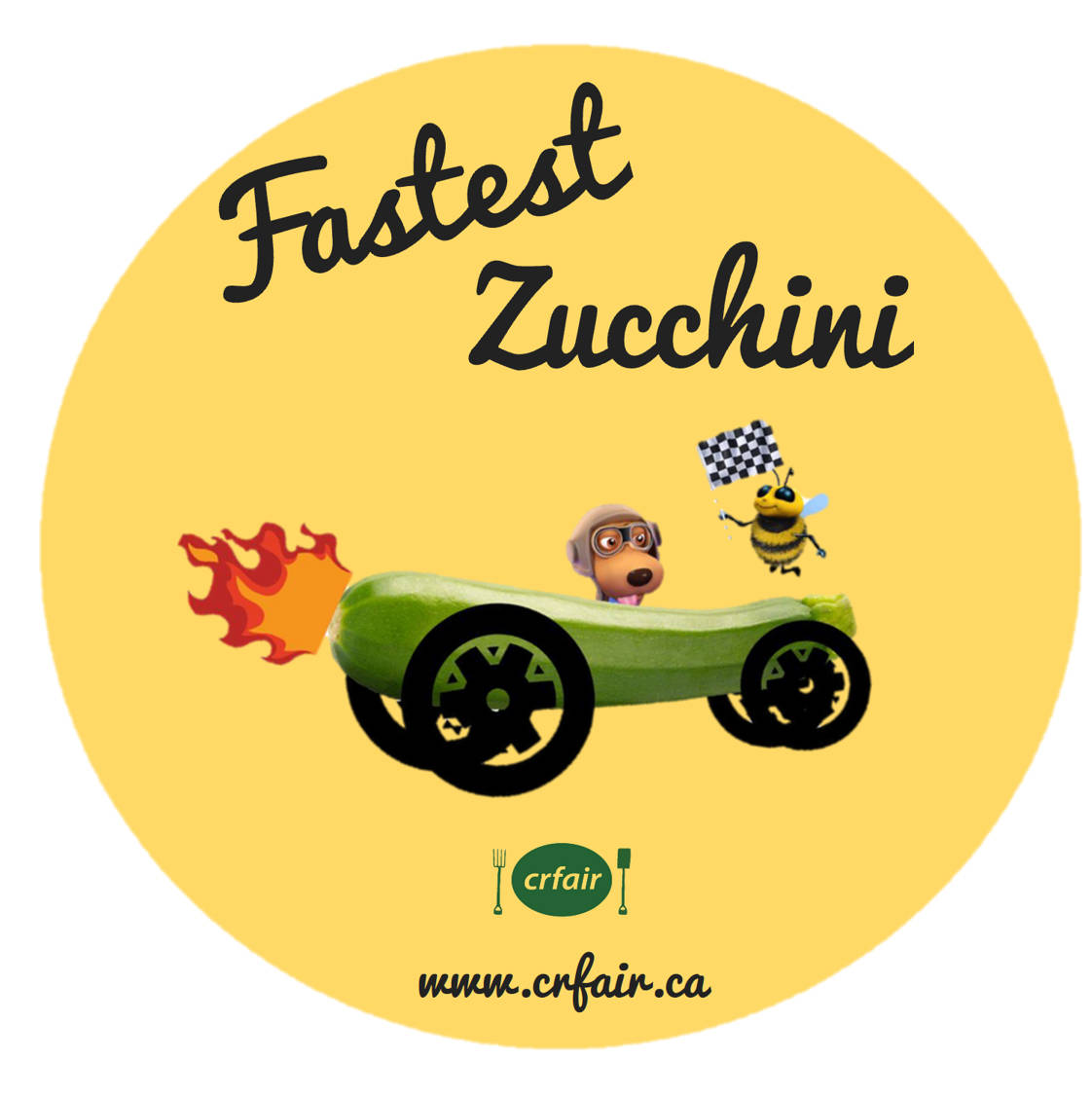 If you bring your own zucchini ready to race, you can enter the Zucchini 500 that will take place on Sunday at 2 p.m.