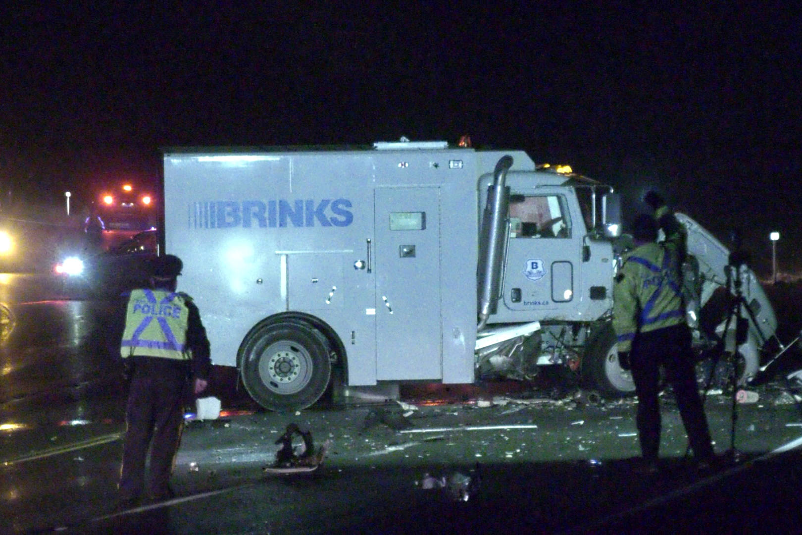 The Courtenay Fire Department along with the Comox Valley RCMP responded to a fatal crash Sunday evening on the Comox Valley Parkway near the Comox Logging Road. Photo by CTV Vancouver Island